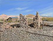 Ruins Prints - Lake Valley-New Mexico  Print by Guido Borelli
