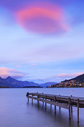 Dawn Photos - Lake Wakatipu Queenstown New Zealand by Colin and Linda McKie