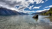 Shari Mattox Art - Lake Wakatipu by Shari Mattox