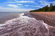 Port Holes Prints - Lakeport Beach - Lakeport Michigan Print by Gordon Dean II