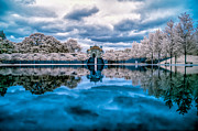 Infrared Framed Prints - Lakewood Infrared Framed Print by Mark Goodman