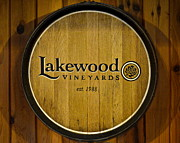 Wine-bottle Prints - Lakewood Vineyards Print by Robert Harmon