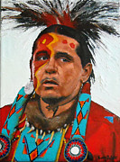 Lakota Paintings - Lakota by Lane DeWitt