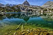 Eastern Sierra Prints - Lamark Lake Print by Cat Connor