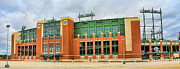Lambeau Field Metal Prints - Lambeau Field Metal Print by Jack Schultz