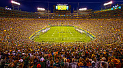 Lambeau Framed Prints - Lambeau Field Framed Print by Phil Koch
