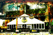 Lambeau Field Metal Prints - Lambeau Field - Tundra Tailgate Zone Metal Print by Joel Witmeyer