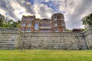 Haunted Castle Prints - Lambert Castle Print by Anthony Sacco