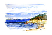 Cape Cod Paintings - Lambert Cove by Paul Gaj