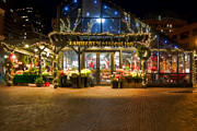 Quincy Market Photos - Lamberts at Faneuil Hall by Joann Vitali