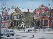 Oz Freedgood - Lambertville in the snow