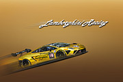 Lamborghini Print by Bill  Wakeley