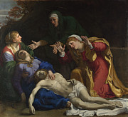 Famous Artists - Lamentation of Christ by Annibale Carracci