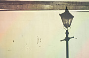 Dappled Light Photos - Lamp post shadow by Tom Gowanlock