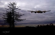 Lancaster Flight  Print by Tom Straub