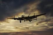 Lancaster Bomber Digital Art - Lancaster Spirit by James Biggadike