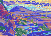 Sedona Painting Prints - Land and Light Print by Howard Ganz