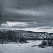 Yukon River Prints - Land Shapes 14 Print by Priska Wettstein