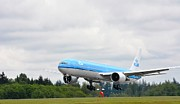 Klm Photos - Landing by Evelina Popilian