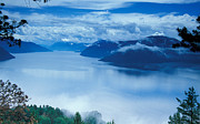 Fog; Landscape; Mist; Mountain; Mountains; Nature; Nobody; Outdoors; Outside; River; Rivers  Photos - Landscape by Anonymous