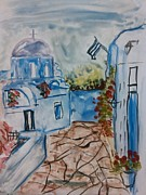 Farfallina Art -Gabriela Dinca- - Landscape from Greece