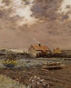 Landscape Print by Jean Charles Cazin