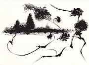 Meeting Branches Prints - Landscape Print by Len YewHeng