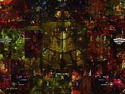 Landscape Of Hell Print by RC deWinter