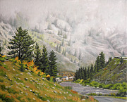 Daniel Fishback - Landscape Painting - The...