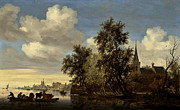 All - Landscape by Salomon van Ruysdael