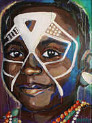 Tanzania Paintings - Language Barrier by Julia Pappas