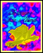 Universal Language Prints - Language of Love Print by Bobbee Rickard