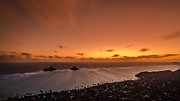 Lahaina Prints - Lanikai sunrise - Oahu Print by Tin Lung Chao