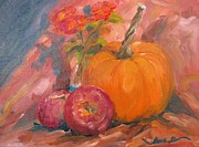 Susan Jones - Lantana Pumpkin and...