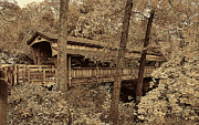 Featured Prints - Lantermans Covered Bridge Print by Marcia Colelli