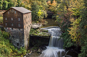 Grist Mill Art - Lantermans Mill by Dale Kincaid