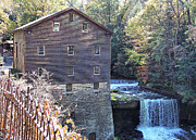 Grist Mill Posters - Lantermans Mill Poster by Monnie Ryan