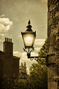 Stone Chimney Posters - Lantern Poster by Jill Battaglia