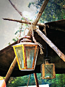 Marty Koch Metal Prints - Lanterns Metal Print by Marty Koch