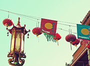 Cindy Garber Iverson - Lanterns over Chinatown