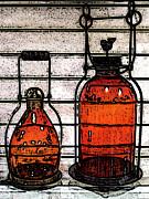 Lanterns Still Life Print by Ben and Raisa Gertsberg