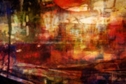 Abstract Expression Paintings - Large Abstract by Lutz Baar