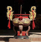 Yali Shi - Large Incense Burner...