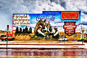 Coca-cola Mural Prints - Large North Platte Wall Mural Print by Bill Kesler