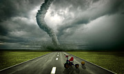 Large Tornado Print by Boon Mee