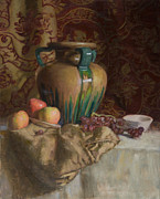 Walter Mosley - Large Vase with Apples