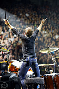Metallica Photo Posters - Lars Ulrich Poster by Ben Johnson