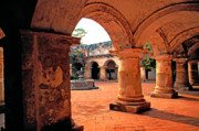 Antigua Prints - Las Capuchinas Arches Print by Thomas R Fletcher