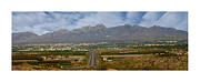 Las Cruces New Mexico Framed Prints - Las Cruces New Mexico Panorama Framed Print by Jack Pumphrey