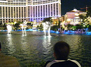 Bellagio Prints - Las Vegas - Bellagio Casino - 121211 Print by DC Photographer